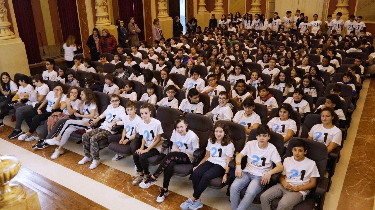 Homenaje a Iván Feijoo en el Concello de Allariz