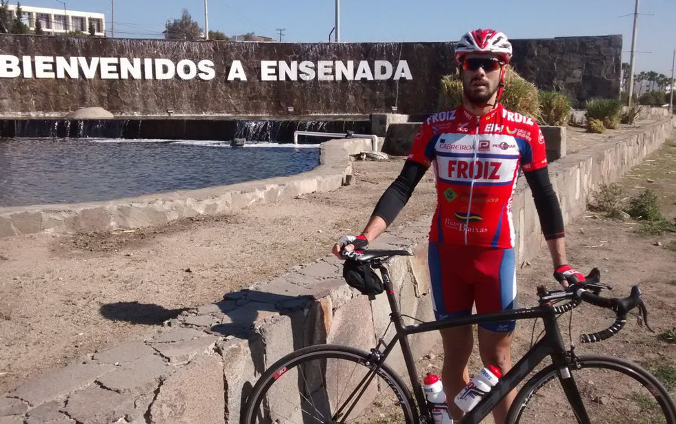 José Luis Mariño llegó hace quince días a Ensenada, a una hora al sur de San Diego.