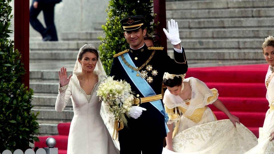 Dieciséis años de la boda de Felipe VI y Letizia.El historiador Miguel Artola