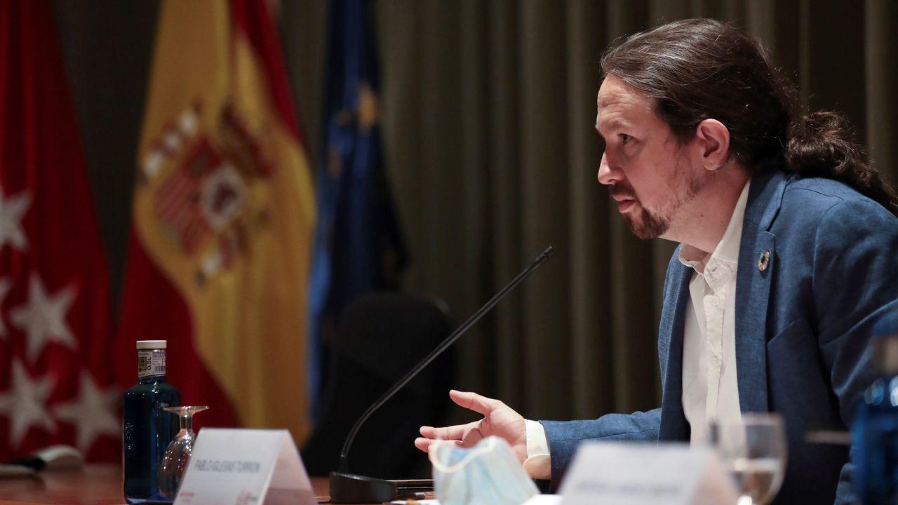 La ministra de Hacienda, María Jesús Montero, y el presidente de la FEMP, Abel Caballero