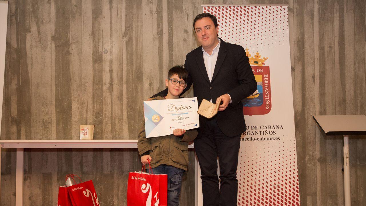 Segundo premio: Isaac González Silva