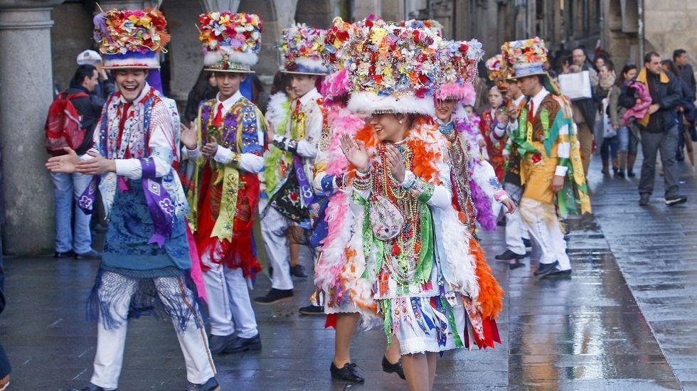 Madamas y Galanes del carnaval de Cobres