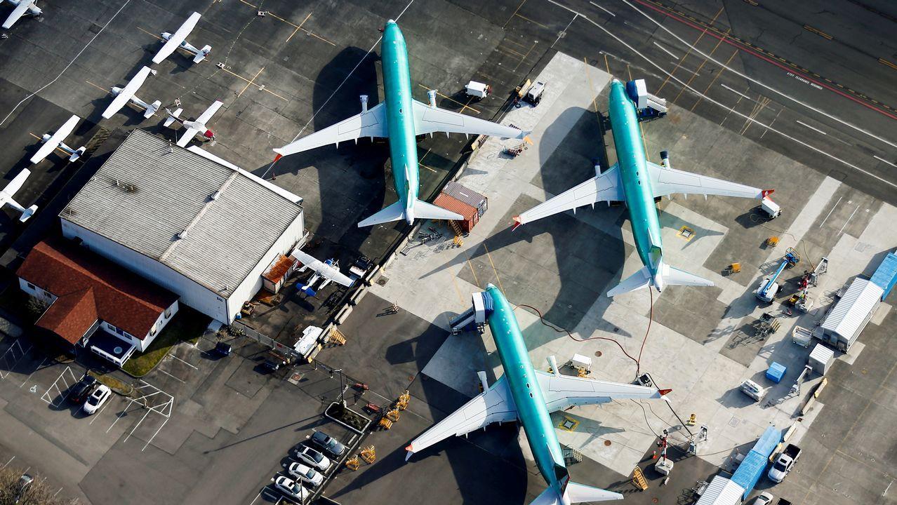 Las imágenes del accidente aéreo en Moscú.Vista aérea de la fábrica de Boing en Renton
