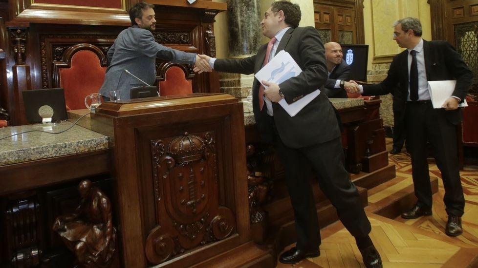 Pleno municipal en A Coruña