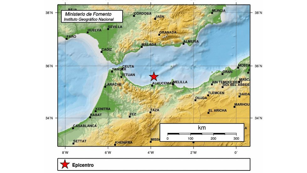 20 años después de los terremotos de Guilfrei