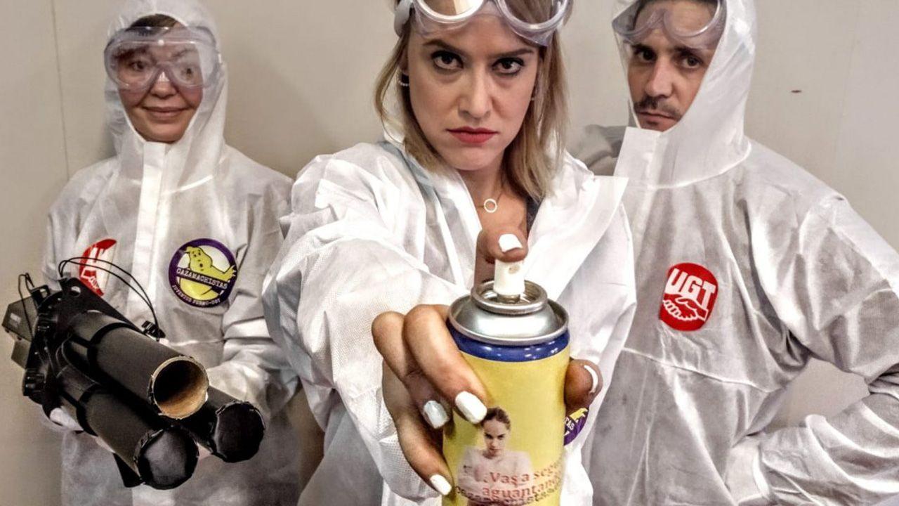 UGT de Asturias se suma a la campaña  cazamachistas  para señalar empresas que toleran las diferencias por género