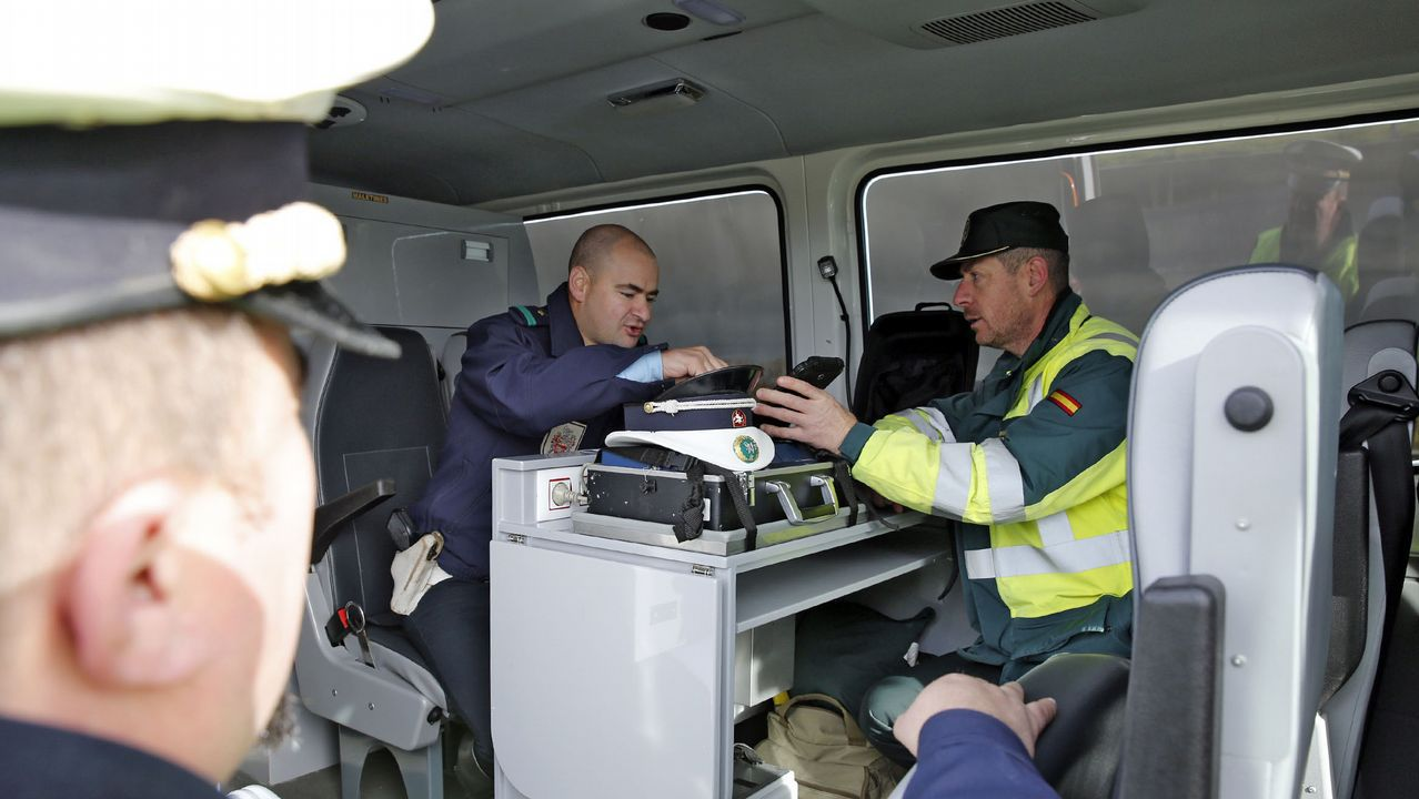 control de alcohol de la Guardia Civil