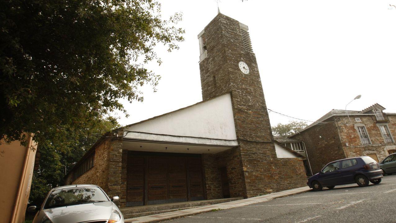 La iglesia de Cruz do Incio figura entre las muestras más destacadas de la arquitectura contemporánea de Galicia
