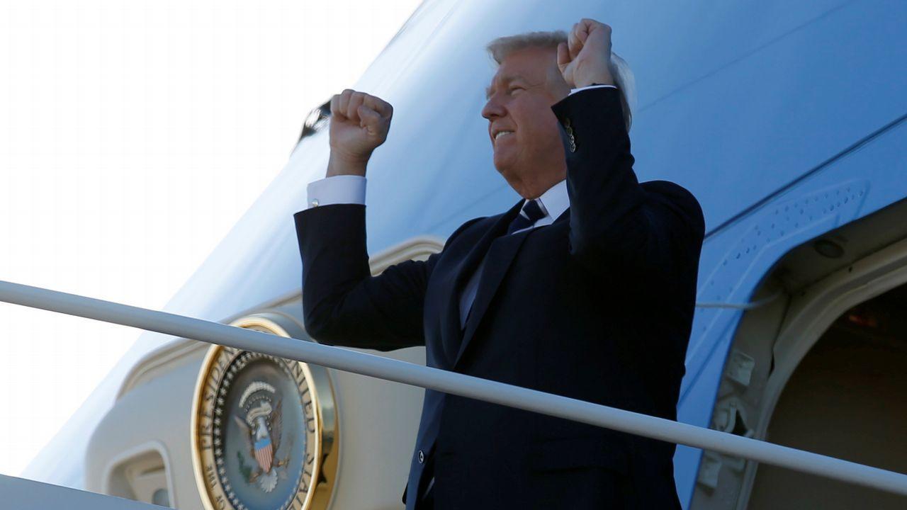 Charla sobre el Ictus.Donald Trump