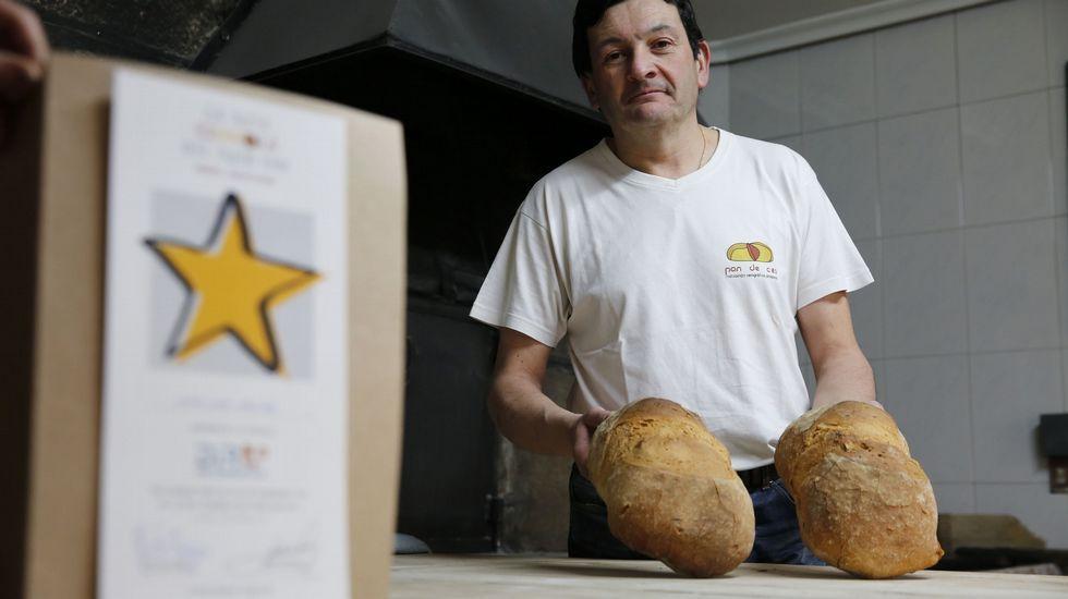 Antigas bebidas carbonatadas do sur lucense.Juan Luis Calviño, de Panadería Calviño