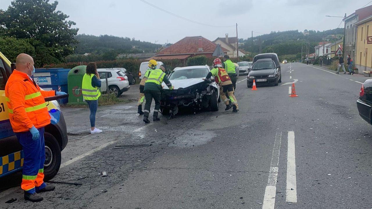 El accidente en Betanzos se produjo en un tramo que el Ayuntamiento ha solicitado se transforme en travesía para limitar la velocidad