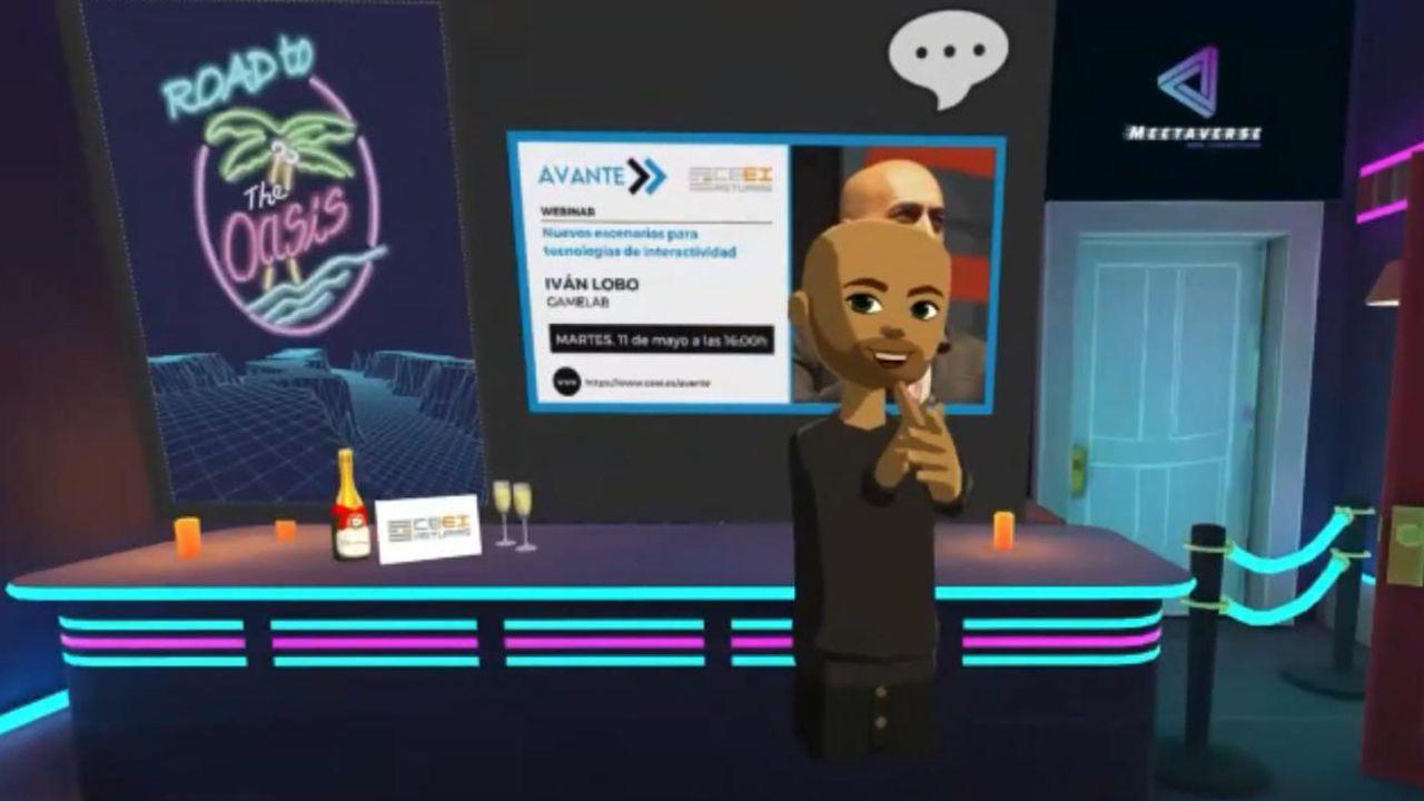 Iván Fernández Lobo presenta de forma virtual su ponencia sobre el futuro de la industria del videojuego