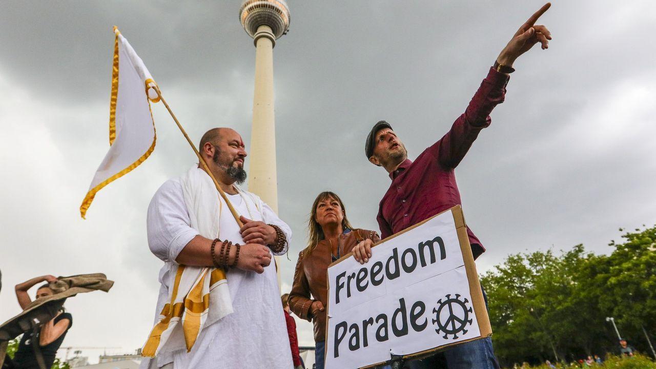 En Alemania, durante las últimas semanas, se han sucedido las manifestaciones que reclamana el levantamiento de las restricciones