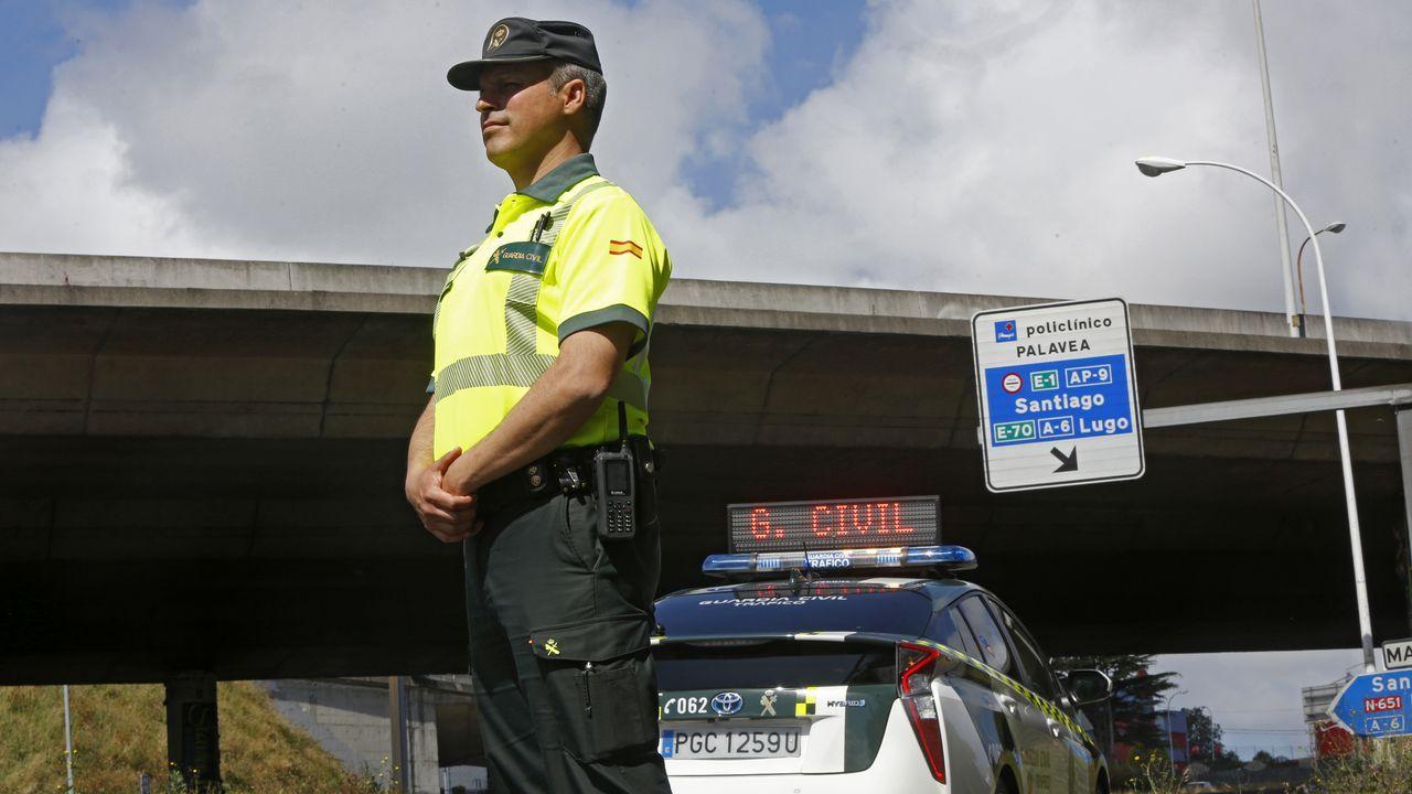Teixeira está destinado en la Agrupación de Tráfico de la Guardia Civil