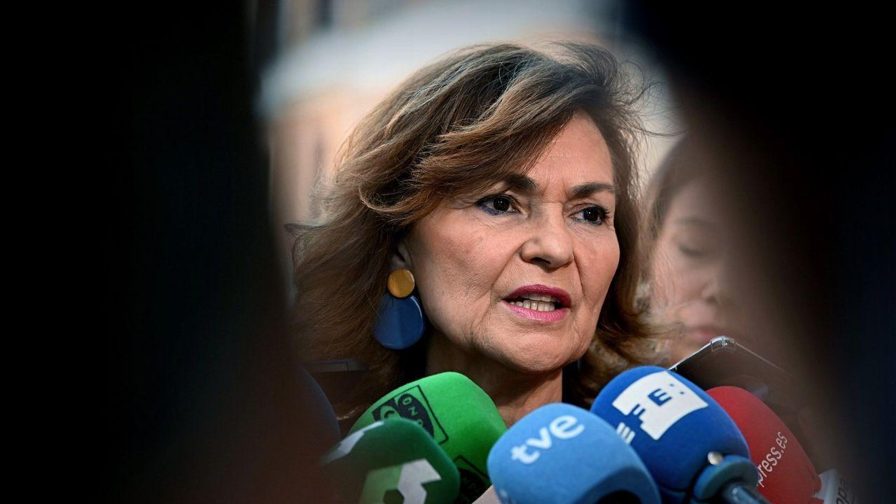 La gallega Yolanda Díaz, portavoz adjunta de Unidas Podemos, participará en las negociaciones