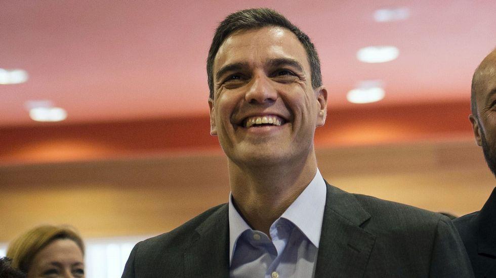 Pedro Sánchez: «España no va a fallar. Sin condiciones»