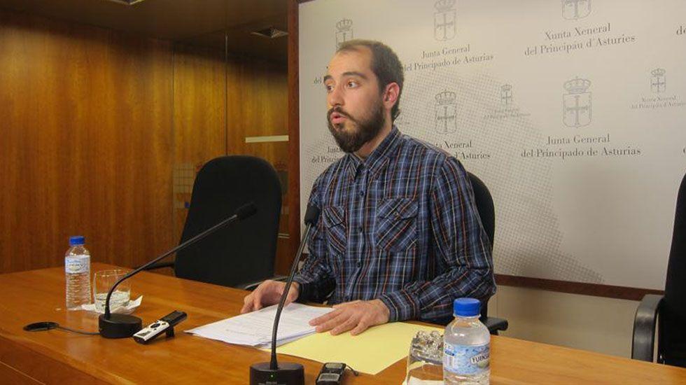 El diputado de Podemos Héctor Piernavieja