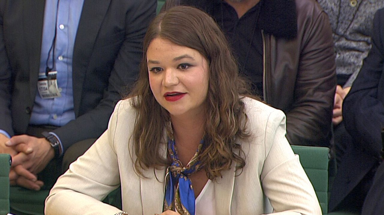 Brittany Kaiser fue consultora de Cambridge Analytica.