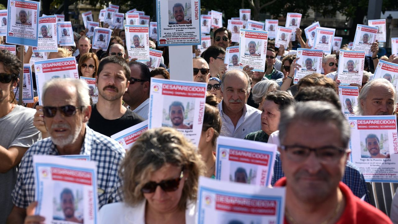 Jose Luis Abet, asesino de su ex-muller, ex-cuñada y ex-suegra en Valga vuelve al juzgado para una prueba de ADN.Policía Local de Siero