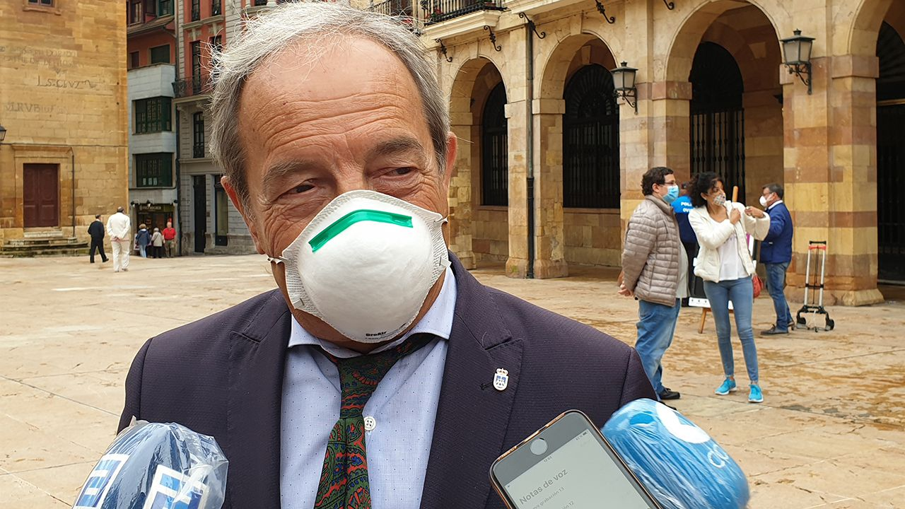 Wenceslao López, concejal del PSOE en el ayuntamiento de Oviedo
