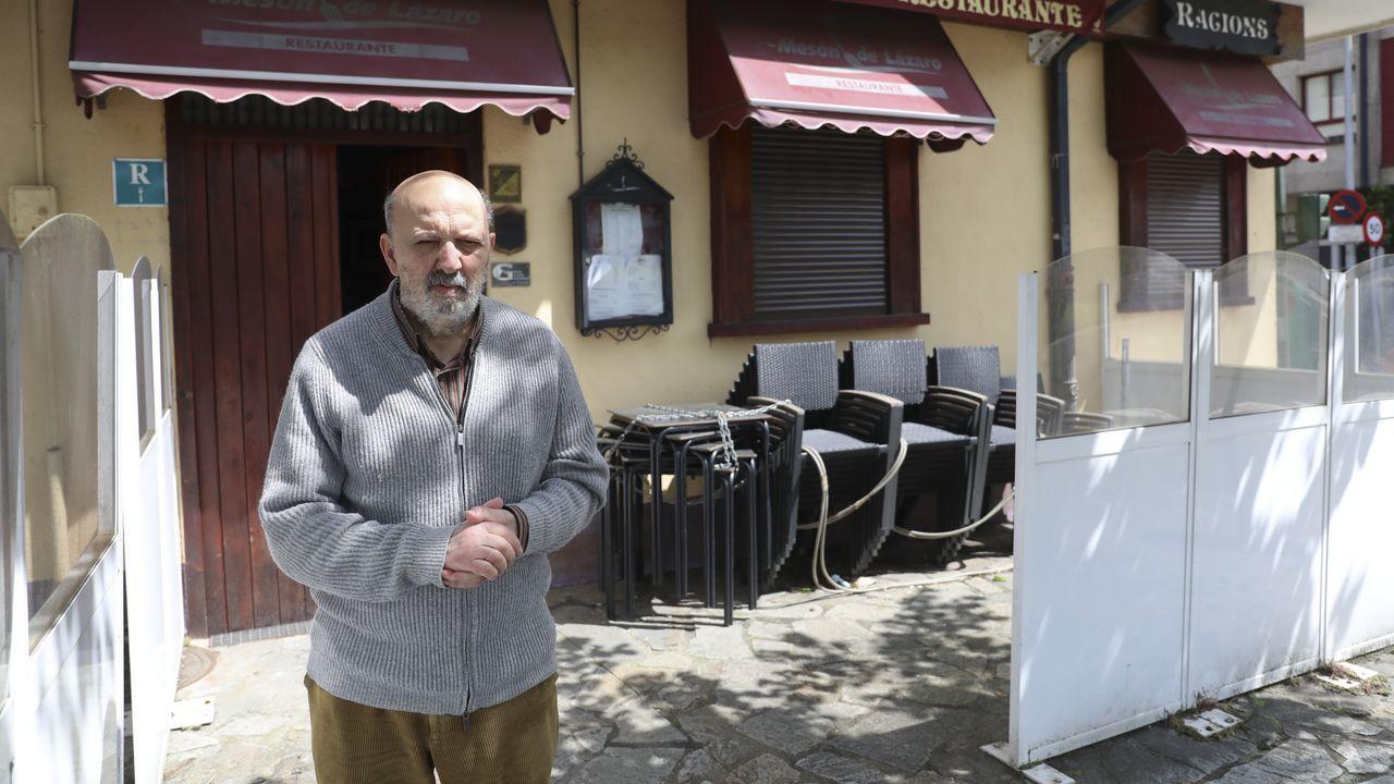 Pepe Mato, del Mesón de San Lázaro, elabora comida para llevar y este lunes instala su terraza