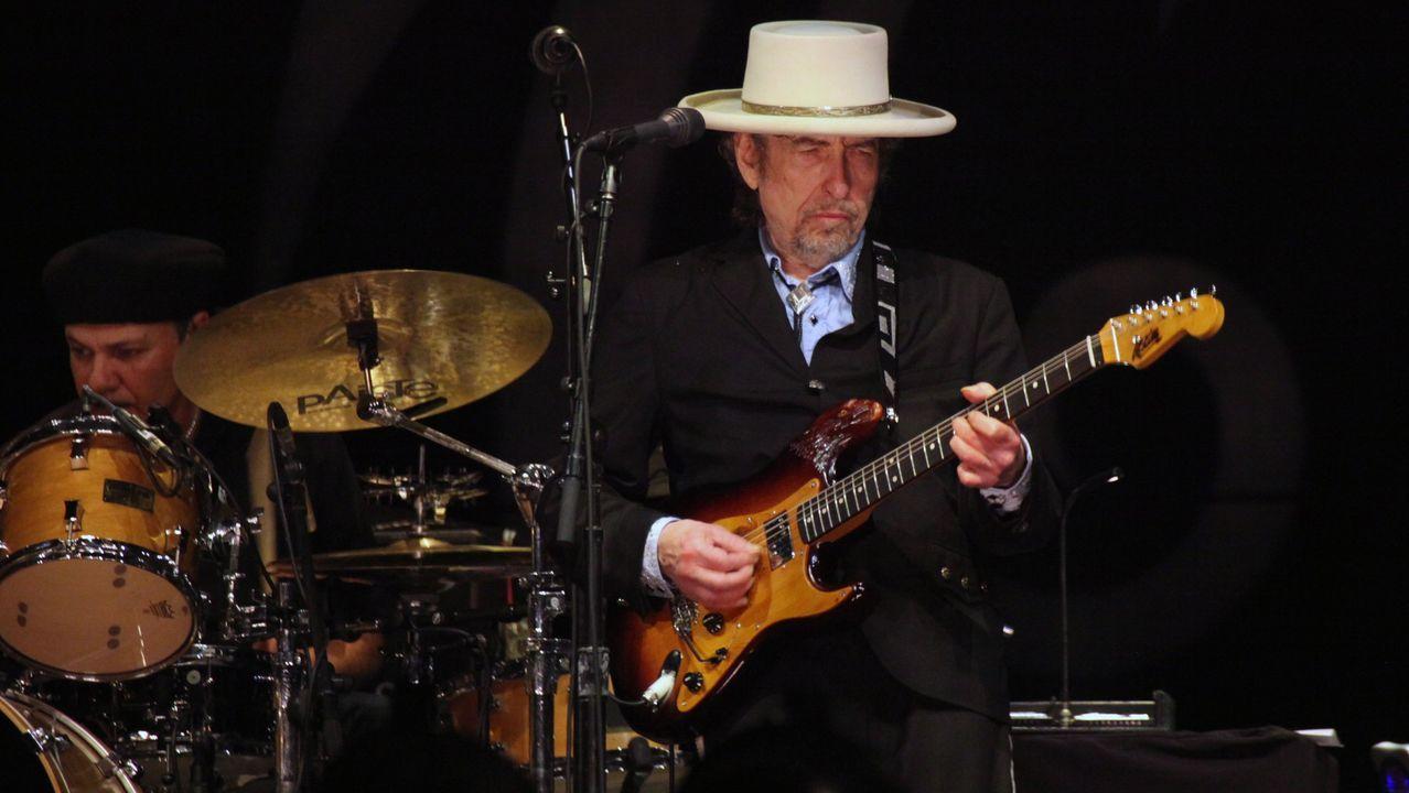 Bob Dylan, durante un concierto en Tel Aviv en junio del 2011