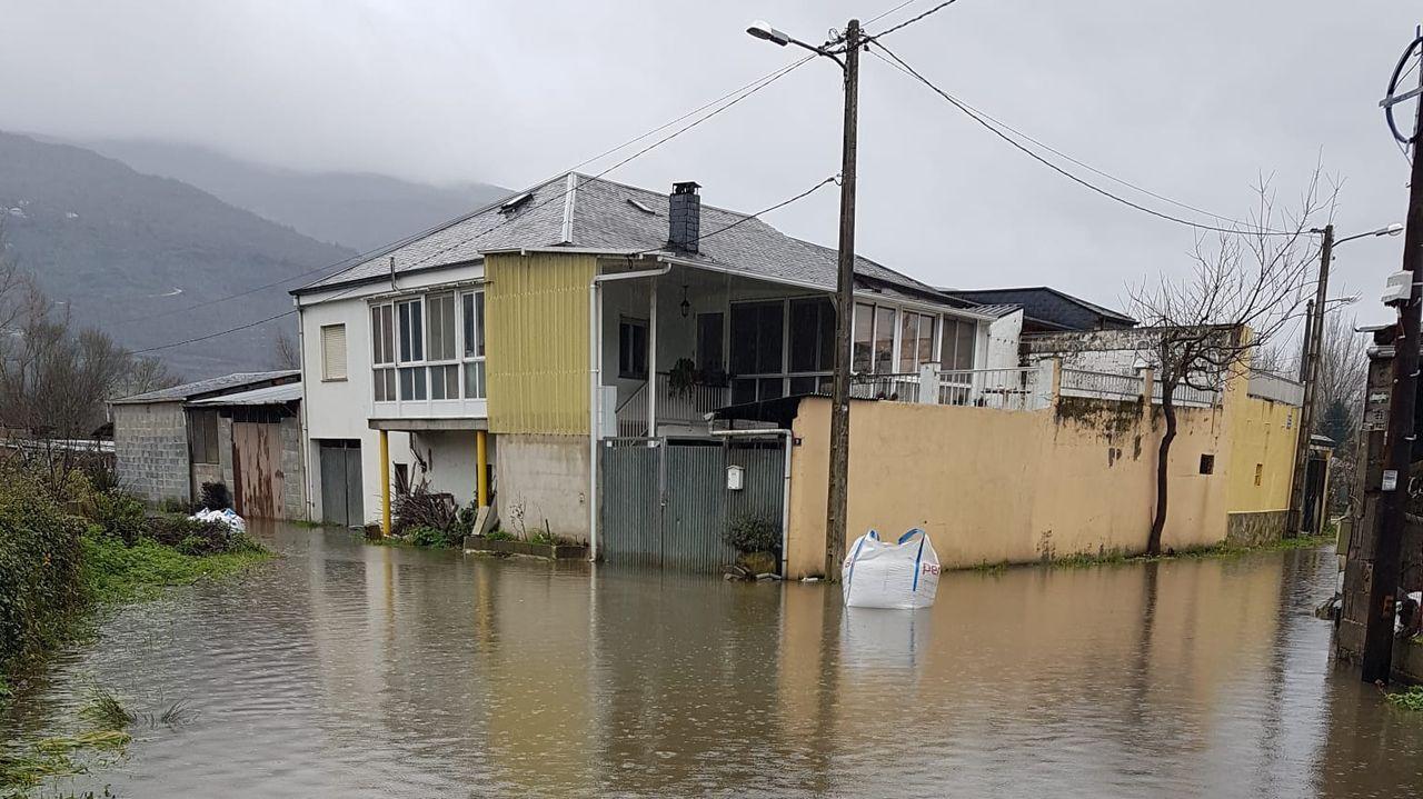 Inundaciones en O Barco de Valdeorras