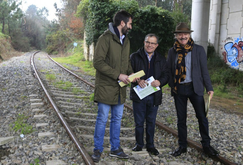 Se trata de un proyecto conjunto, apoyado pos los alcaldes de Vilagarcía, Caldas y Portas.