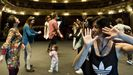 Jornada de puertas abiertas en el teatro Rosalía por el Día de la Danza en el 2018.