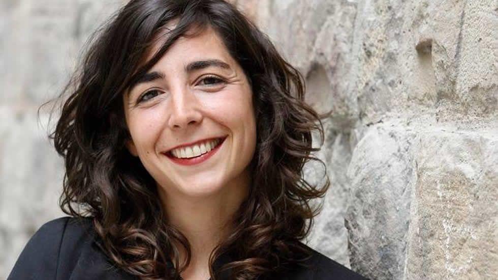 Laura Pérez, portavoz de Podemos en el Parlamento de Navarra