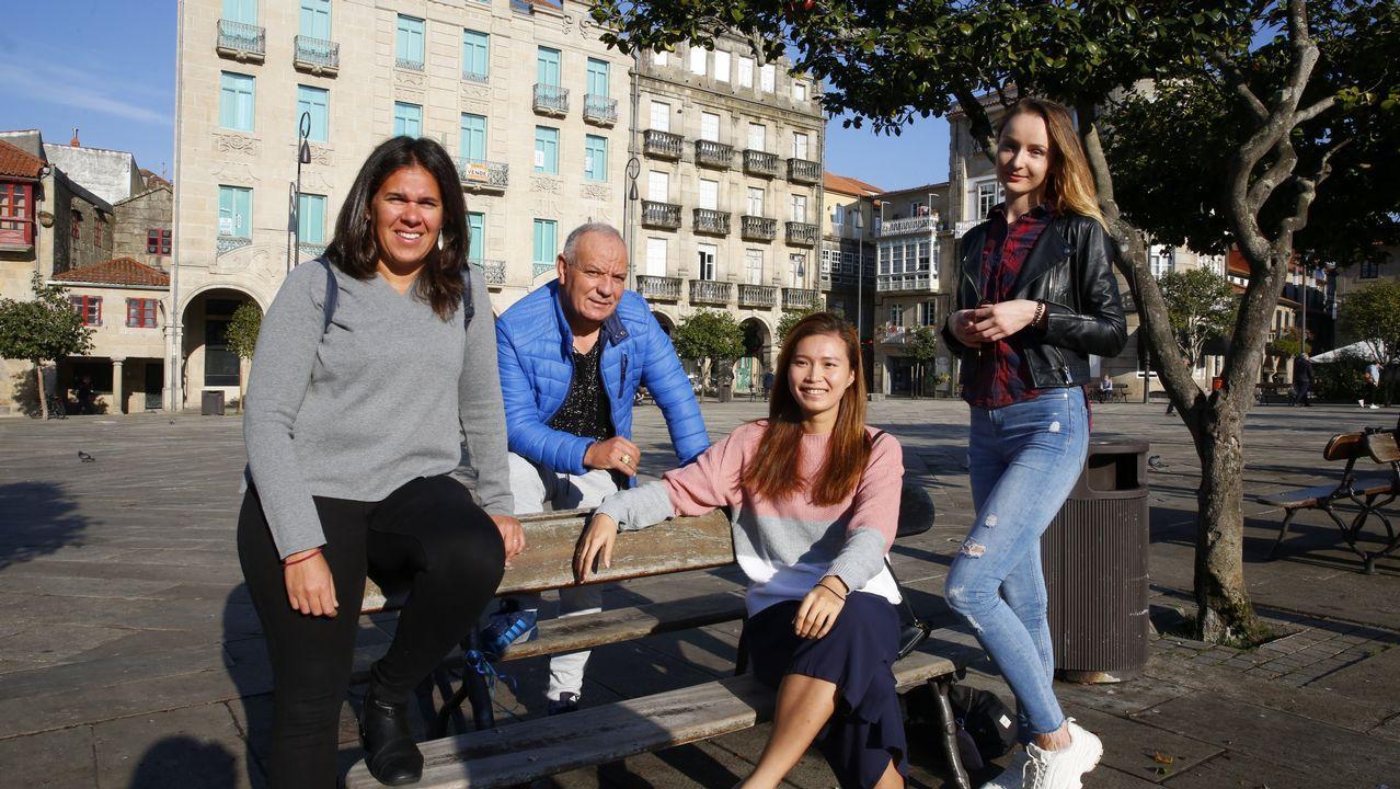 De Senegal a Galicia, en patera.José Marcial Doctor considera que la sucesión está «hablada y ordenada»