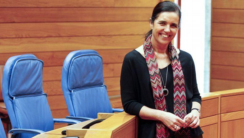 La presidenta del Parlamento recibió a la joven panameña Mariela Montero Rodríguez.