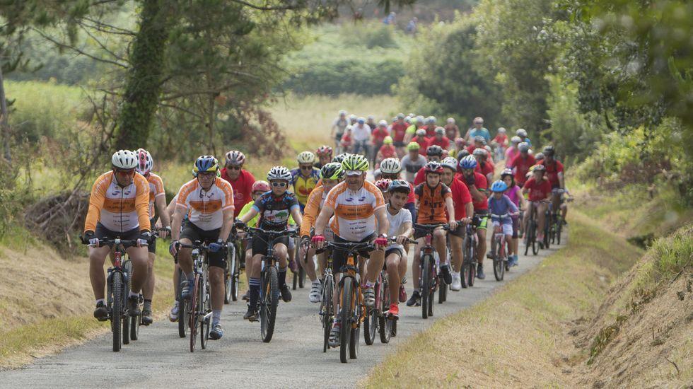 ¡Búscate en el Día da Bicicleta de Malpica! ¡Afición sobre dos ruedas!