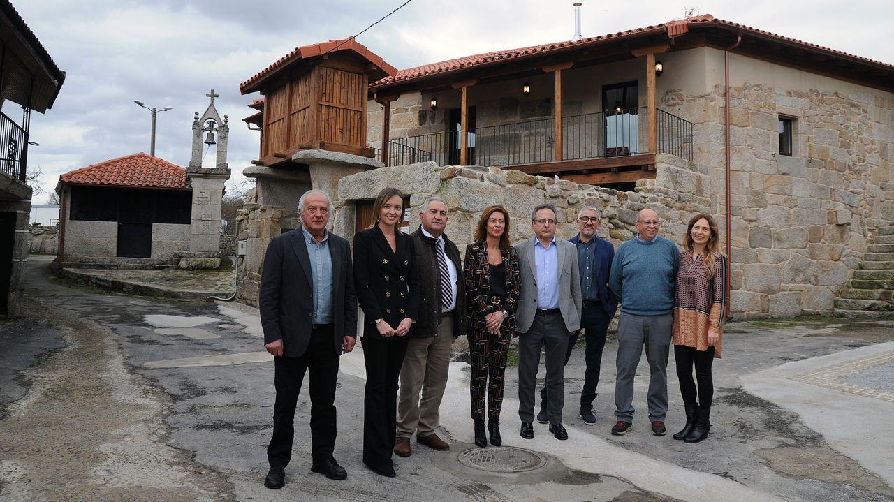 Parada dos Montes, en A Pobra do Brollón, una de las nuevas aldeas modelo