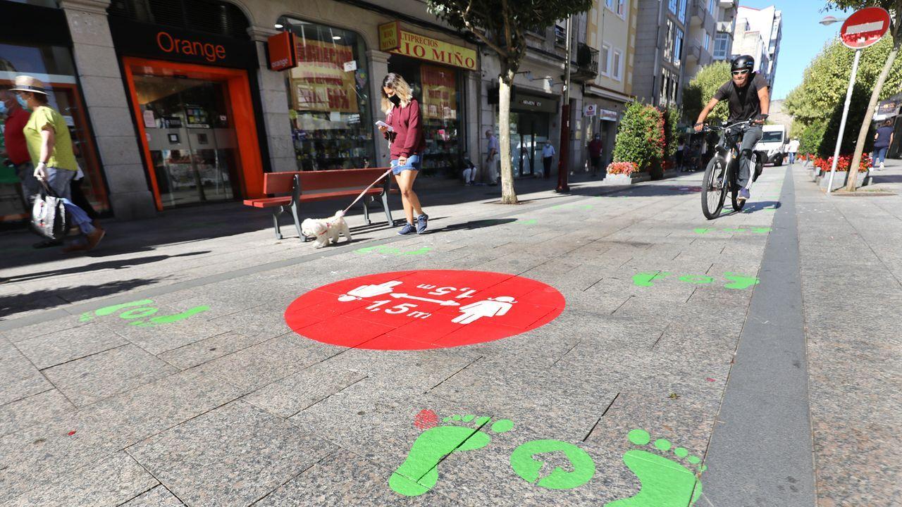 El Calvario se une a las calles con sentidos únicos de paseo