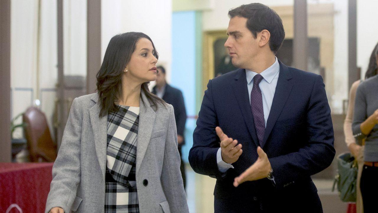 Inés Arrimadas y Albert Rivera en una imagen de archivo
