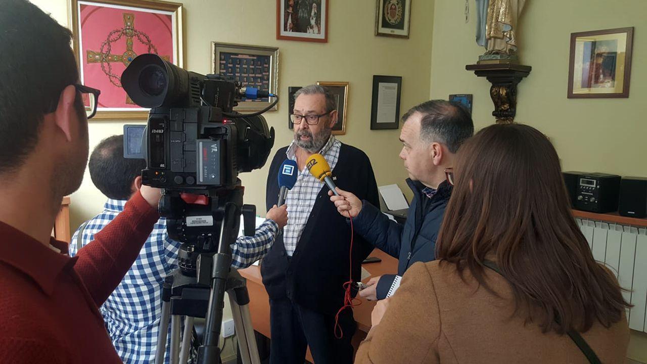 José Salinas informa del indulto a un preso durante la Semana Santa de 2019