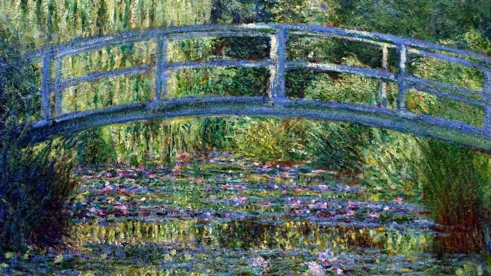 «El puente japonés. Estanque de los nenúfares» (1899), de Claude Monet. Museo Metropolitano de Arte de Nueva York