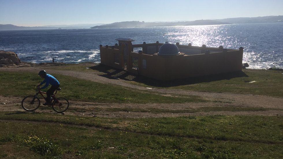 Jornada de playa en A Coruña.Gustavo Dudamel
