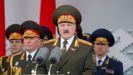 Lukashenko, en el desfile del Día de la Victoria contra los nazis el pasado año
