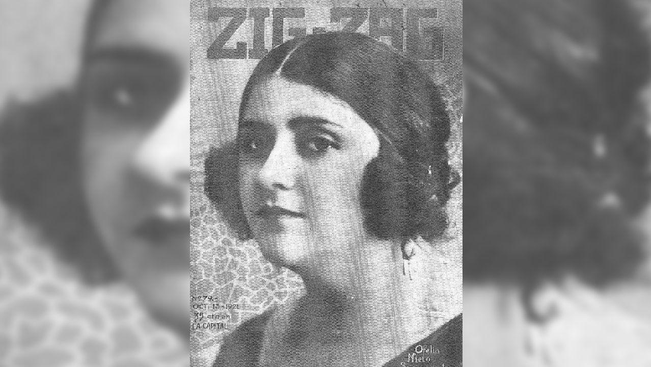Retrato de la cantante tomado del libro «Ofelia Nieto. Una gallega en el Olimpo del 'bel canto'», coeditado por Biblioteca Gallega y Consorcio de Santiago