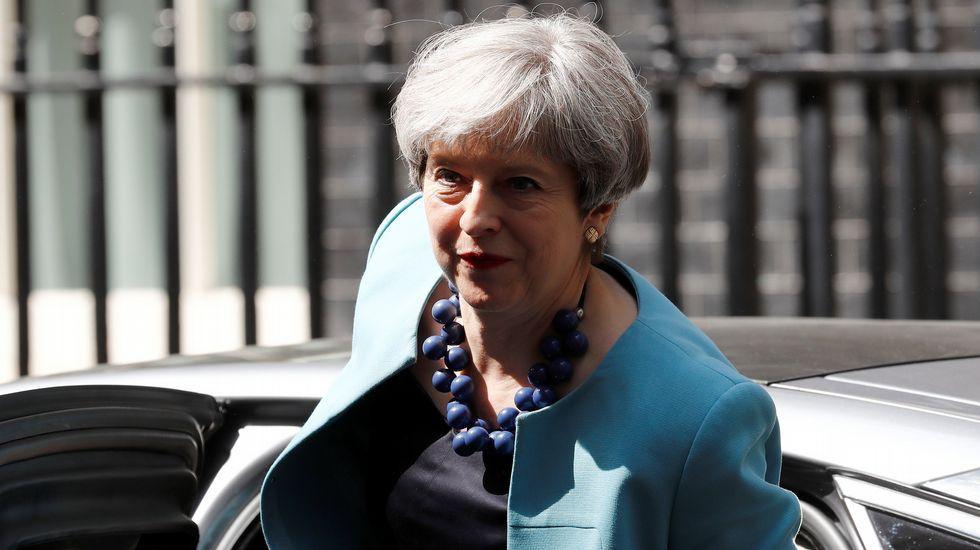 Barnier tiende la mano a su interlocutor británico, David Davis