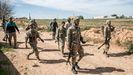 Milicianos de las fuerzas leales al Gobierno de unidad de Trípoli