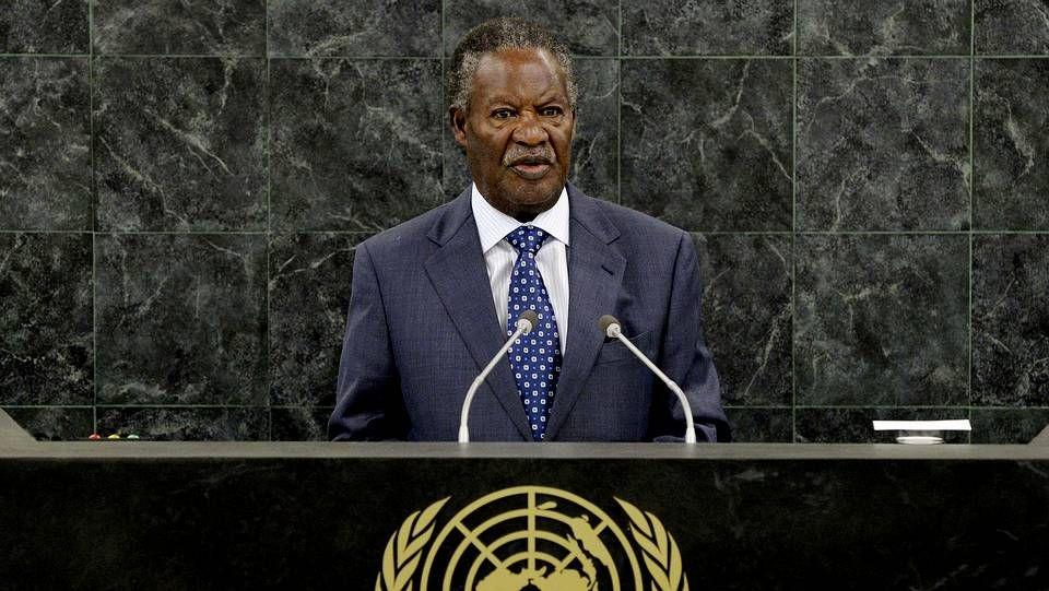 El presidente de Zambia, Michael Chilufya Sata