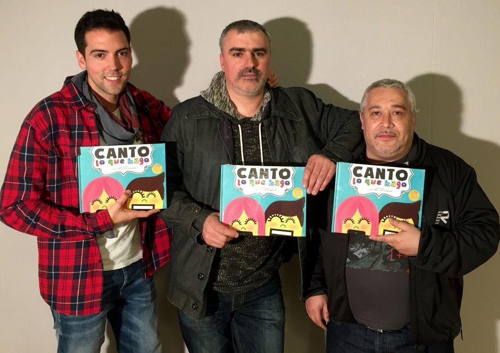 Héctor Martínez, Xosé Lueiro y Fernando Campos son los artífices.