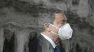Draghi, durante su reunión en el palacio de Quirinal con el presidente Mattarella