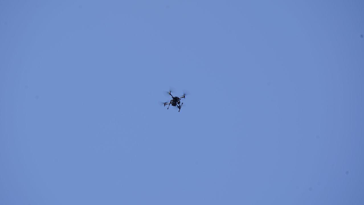La Axencia Galega de Emerxencias (Axega) ha desplazado una unidad operativa de drones