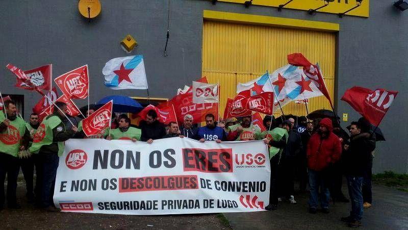 Las imágenes de la última prueba del torneo.Protesta de los trabajadores de Prosegur en A Coruña