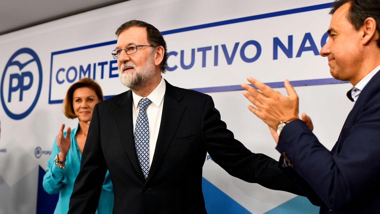 Rajoy vuelve al trabajo: «Ahora me dedico a mi profesión».Primer Consejo de Ministros: José Luis Ábalos