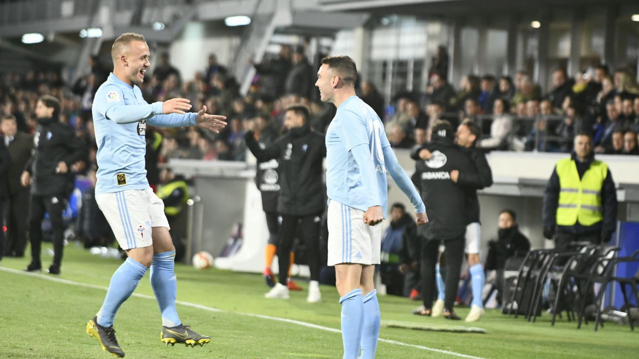 Celta-Huesca (2-0) el 1 de diciembre del 2018